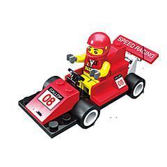 billiga Leksaker och spel-JIE STAR Leksaksbilar / Byggklossar 40 pcs Racerbil Kreativ / GDS (Gör det själv) Racerbil Unisex Present