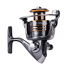 cheap Fishing Reels-Fishing Reel Ice Fishing Reels Carp Fishing Reels Spinning Reel 5.2:1 Gear Ratio+13 Ball Bearings Hand Orientation Exchangable Sea