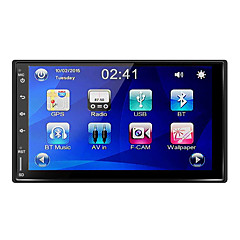 Rungrace 7 '' deckless bil multimediesystem med gps bluetooth radio funtion rl-270dgn04