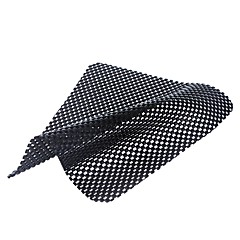 ZIQIAO Car Non-slip Dash Mat Dashboard Phone Holder Coin Sunglass Pad Holder Black Universal Anti-slip Mat