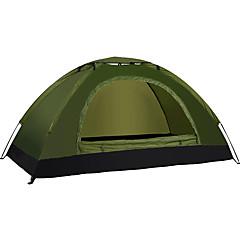 LINGNIU® 1 אדם אוהל יחיד קמפינג אוהל חדר אחד אוהל מתקפל עמיד למים שמור על חום הגוף קל במיוחד (UL) ל בד אוקספורד CM