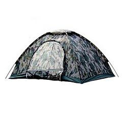 billige Telt og ly-TUOBING® 2 personer Andre / Turtelt Enkelt camping Tent Utendørs Vanntett, Regn-sikker, Varm til Lerret