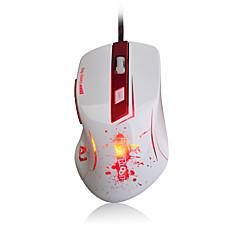 Ajazz-aj100 primul mouse-ul cu laser de sânge 8200 dpi 6 buton condus mouse-ul optic usb cu fir cu mouse-ul a9800