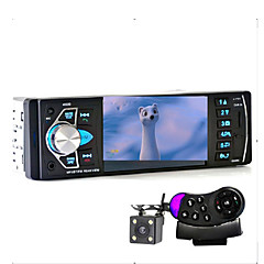 cheap Car DVD Players-Car Radio Music Player with Rear View Camera Support Bluetooth MP5/MP4/MP3/FM Transmitter Car Video with Remote Control