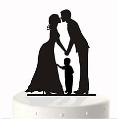 Figurky na svatební dort Klasický pár Párty Zvláštní příležitosti Narozeniny Novorozeně Párty a večerní akceZahradní motiv Motýlí motiv