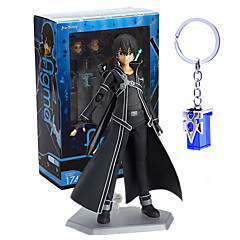 Anime Action Figures Inspired by Sword Art Online Kirito PVC 13CM Model Toys Doll Toy 2PCS