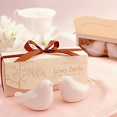 Beter GiftsRLove Birds Salt And Pepper Shakers Set Wedding Favors