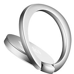 Telefoonhouder standaard Automatisch Bureau Bed Ringhouder 360° rotatie Verstelbare Standaard Magnetisch Metaal for Mobiele telefoon