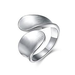 billige Motering-Dame Band Ring - Sølvplett, Legering Sløyfer Personalisert, Luksus, Klassisk 6 / 7 / 8 Sølv Til Jul / Bryllup / Fest