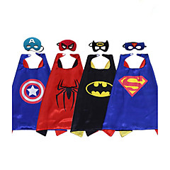 Halloween Child Capes/Superman Batman Spiderman/Costume Party Costume/Cloak And Mask