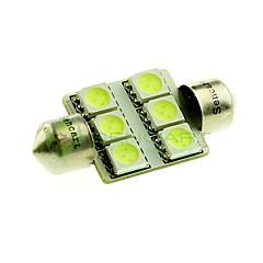 billige Interiørlamper til bil-36mm Bil Elpærer W SMD 5050 100lm lm 6 LED interiør Lights ForUniversell