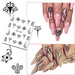 20 Nail Art Samoprzylepna Naklejka na wodę Dziewczyny i młode kobiety Akcesoria DIY Kosmetyki do makijażu Nail Art Design