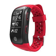tanie Inteligentne zegarki-Indear YYS908 Inteligentne Bransoletka Android iOS Bluetooth GPS Sport Wodoodporny Pulsometry Kontrola APP Rejestrator aktywności fizycznej Rejestrator snu siedzący Przypomnienie Znajdź moje / 32 MB
