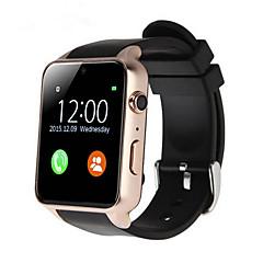 tanie Inteligentne zegarki-GT88 Inteligentny zegarek Android iOS Bluetooth Sport Wodoodporny Pulsometry Ekran dotykowy Spalonych kalorii Rejestrator aktywności fizycznej Rejestrator snu siedzący Przypomnienie Budzik / 32 MB