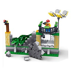 tanie Klocki magnetyczne-Klocki Tyrannosaurus Dinozaur DIY Klasyczny Dla chłopców Zabawki Prezent