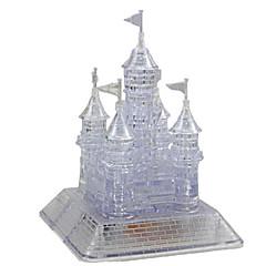 tanie Gry i puzzle-Zabawki 3D Puzzle Kryształowe puzzle Psy Wieża Konik Architektura Niedźwiedź 3D Tworzywa sztuczne Żelazo Dla obu płci Prezent
