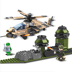 tanie Klocki magnetyczne-Klocki Lotniskowiec Helikopter Fun & Whimsical Dla chłopców Zabawki Prezent