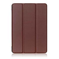 povoljno -Čvrsta boja uzorka pu kožna torbica sa stalakom za karticu lenovo 4 10 plus (tb-x704fn) 10.1 inčni tablet PC