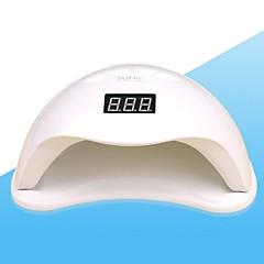 זול טיפוח והברקת הציפורניים-48W מייבשי נייל מנורת UV מנורת לד לק UV ג'ל