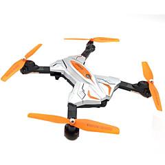 billige Fjernstyrte quadcoptere og multirotorer-RC Drone Skytech TK111 4 Kanaler 6 Akse 2.4G Med HD-kamera 0.3MP 480P Fjernstyrt quadkopter LED Lys / En Tast For Retur / Flyvning Med
