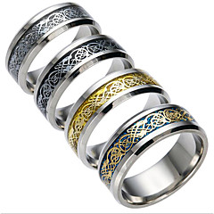 Herre Dame Parringer Kubisk Zirkonium kostyme smykker Mote Titanium Stål Smykker Smykker Til Daglig