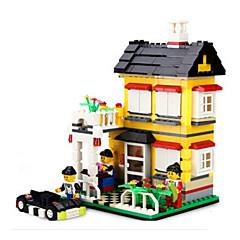 tanie Klocki magnetyczne-Klocki Zabawy w odgrywanie ról Zamek Dom Fun & Whimsical Dla dziewczynek Zabawki Prezent