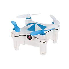 billige Fjernstyrte quadcoptere og multirotorer-RC Drone Cheerson CX-OF 4 Kanaler 6 Akse 2.4G Med HD-kamera 0.3MP 30 Fjernstyrt quadkopter FPV LED Lys En Tast For Retur Flyvning Med 360