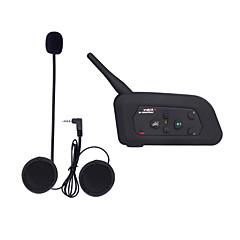 Motocicleta VNETPHONE V3.0 Fones Bluetooth Estilo pendurado da orelha Transmissores FM USB Port Player MP3
