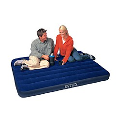 Air Mattress Portable Foldable Travel Rest Compact Stretchy PVC Flocking for Camping Camping / Hiking / Caving All Seasons