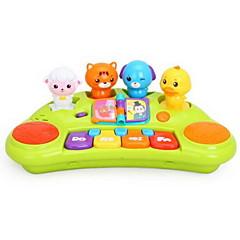 Instrumentos de brinquedo Brinquedos Quadrada Instrumentos Musicais Animal Plásticos Plástico Duro Peças Criança Unisexo Dom