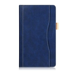 povoljno -Čvrsta boja uzorka PU kožna torbica s ručnom konopom za Lenovo karticu 4 8 (tb-8504fn) 8.0 inčni tablet PC