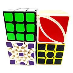 tanie Kostki Rubika-Kostka Rubika Włókno węglowe 3*3*3 2*2*2 Gładka Prędkość Cube Magiczne kostki Gadżety antystresowe Puzzle Cube Edukacja Kwadrat Prezent