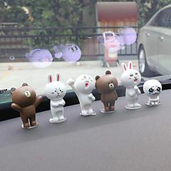 DIY automotive ornamenten cartoon schattige pop auto hanger&Ornamenten pvc