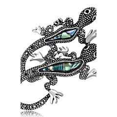 preiswerte Modische Broschen-Damen Broschen Strass Personalisiert Luxus Klassisch Retro Grundlegend Elegant Modisch Simple Style Krystall Diamantimitate Aleación