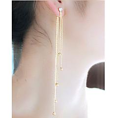 Žene Viseće naušnice Umjetno drago kamenje Moda Legura Jewelry Za Party Dnevno
