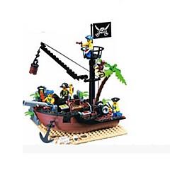 אבני בניין צעצועים ספינה פיראט חתיכות מתנות