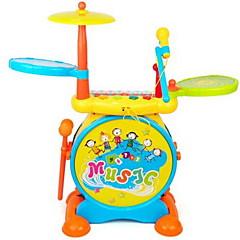 Toy Instruments Opetuslelut Lelut Piano Rumpusetti Soittimet Tähdet Cartoon Muovit Hard plastic Pieces Lapset Unisex Pojat Lahja