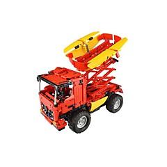 Sets zum Selbermachen Bausteine Bildungsspielsachen Radiokontroll Spielzeugautos Spielzeuge Aushebemaschinen Stücke Kinder Geschenk