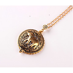 cheap Necklaces-Women's Pendant Necklace - Metallic Animal Design Vintage Elephant Necklace For Wedding Party Birthday Graduation Gift Daily