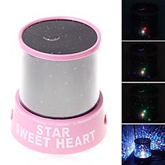 Sternennachtlicht LED - Beleuchtung Projektorlampe Spielzeuge Romantisch 1 Stücke Kind Geschenk