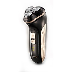 billige Barbering og hårfjerning-Elektriske barbermaskiner Damer og Herrer Ansikt 220V Vannavvisende Slim design Håndholdt design Lett og praktisk Stille og dempe Lav lyd
