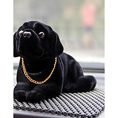 DIY bilvare pendants dukker rister på hodet hunden dekorasjon forsyninger søte kreative valper husky bil anheng&Ornamenter harpiks