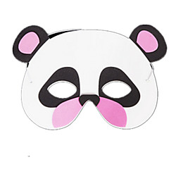 tanie Zabawki nowoczesne i żartobliwe-Maski na Halloween Maska zwierzęca Zabawki Nowość Panda Koronkowe Motyw horroru Sztuk Damskie Dla dzieci Halloween Prezent