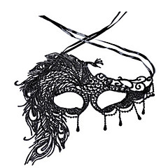 Urlaubsrequisiten Halloween-Masken Sexy Maske mit Spitze Spielzeuge Neuheit Spitze Horror-Theme Damen Stücke