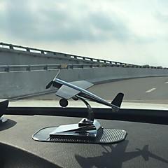 Diy Automobil-Ornamente Sonnenenergie Flugzeug Auto Anhänger&Ornaments metall