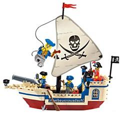 tanie Klocki magnetyczne-ENLIGHTEN Klocki Statek Piracki Dla obu płci Zabawki Prezent