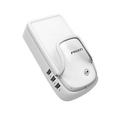 USB-laturi 4 porttia Työpöydän latausasema Smart-tunnistuksella Universaali Latausadapteri