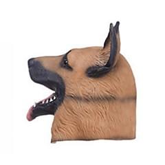billige Originale moroleker-Haloween-masker Dyremaske Hunder Horrortema Lasteks Lim Gummi Deler Unisex Voksne Gave
