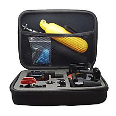 収納ボックス 屋外 耐衝撃 多機能, のために-アクションカメラ,ゴプロ6 すべてのアクションカメラ フリーサイズ Xiaomi Camera Gopro 5 SJCAM SJ4000 SJ5000 SJCAMのSJ7000 ThiEYE I30 サイクリング/バイク