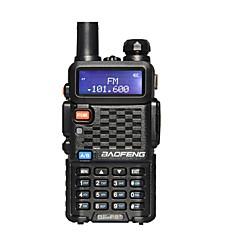 billige Walkie-talkies-BAOFENG Walkie-talkie Håndholdt Programmeringskabel Nød Alarm Programmerbar med datasoftware Strømsparefunksjon Lader og adapter VOX